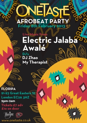 AFRO BEAT PARTY web