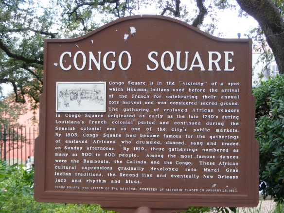 nola congo square sign