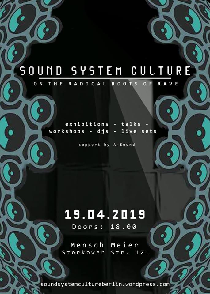soundsystem flyer