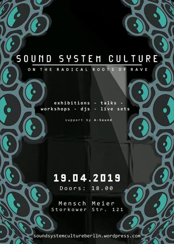 soundsystem flyer